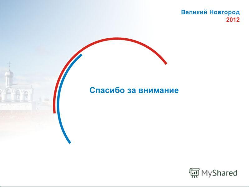 © Комитет образования, науки и молодежной политики Новгородской области 18 Спасибо за внимание Великий Новгород 2012