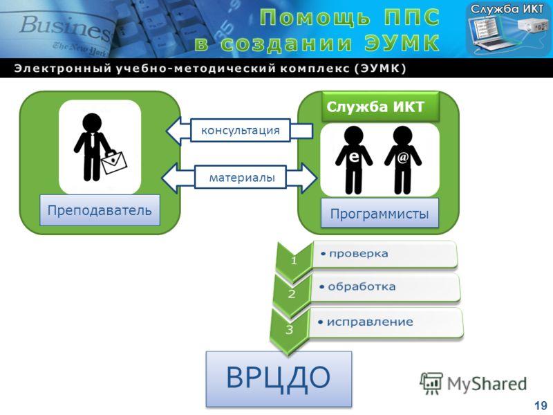 ВРЦДО Преподаватель Программисты консультация материалы Служба ИКТ 19