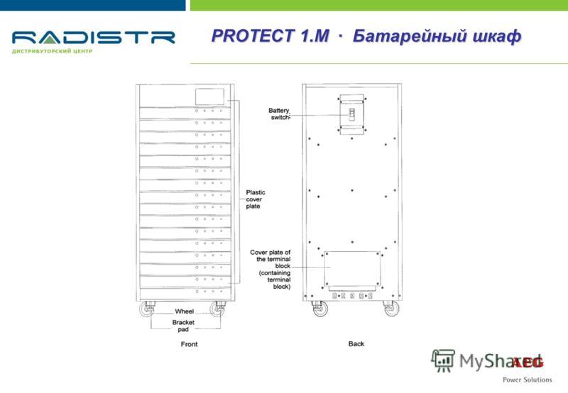 PROTECT 1.M · Батарейный шкаф