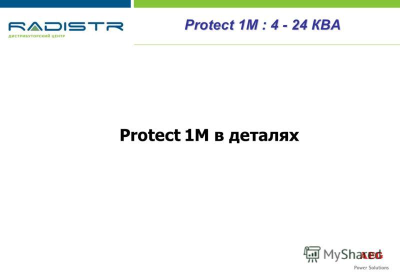 Protect 1М в деталях Protect 1М : 4 - 24 КВА