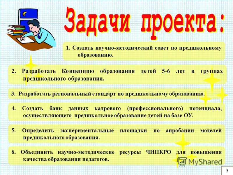4 Создание и апробация моделей предшкольного образования в образовательных учреждениях Читинской области.
