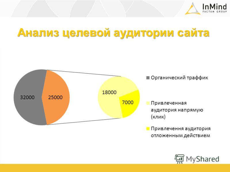 Анализ целевой аудитории сайта