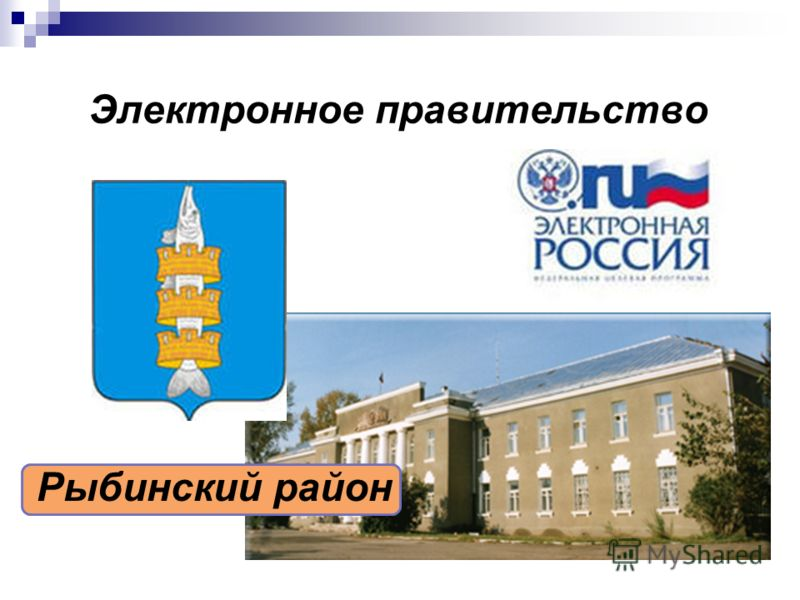 Электронное правительство Рыбинский район