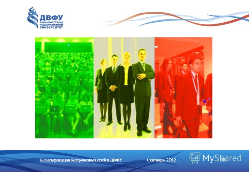 Классификация беспроводных сетей в ДВФУ0303Сентябрь 2012