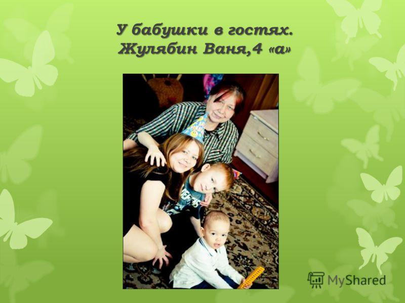 У бабушки в гостях. Жулябин Ваня,4 «а»