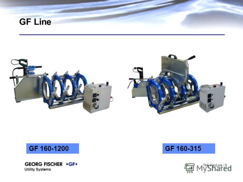 Utility Systems 744/ KeyLine / 6 GF Line GF 160-1200GF 160-315