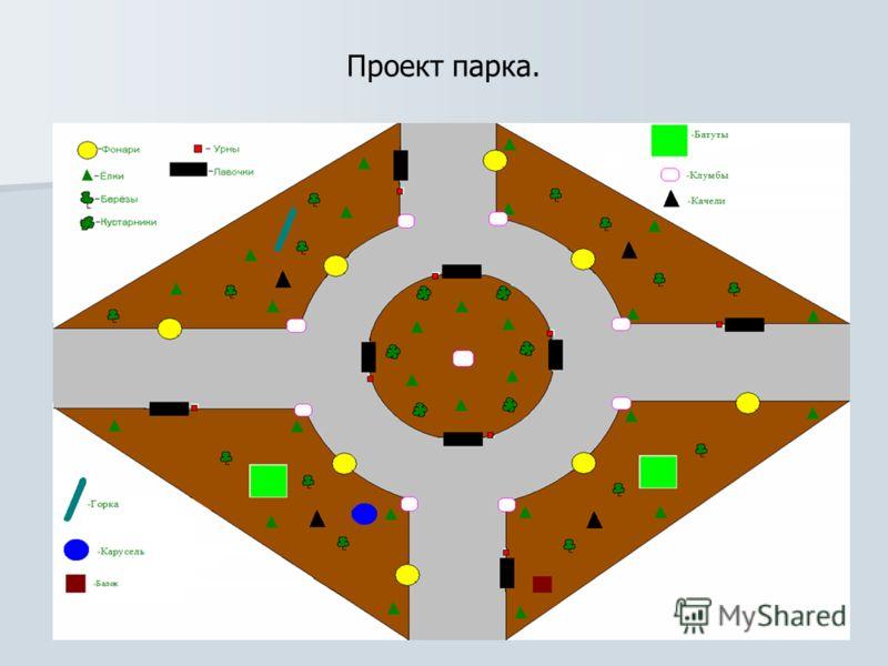 Проект парка.