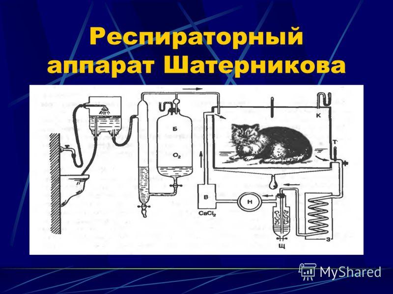 Респираторный аппарат Шатерникова