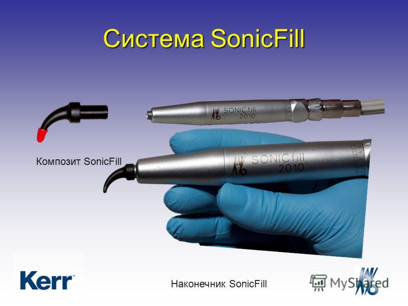 Композит SonicFill Наконечник SonicFill Система SonicFill
