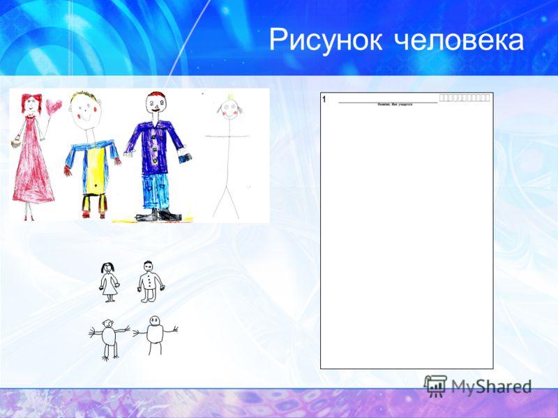 Рисунок человека