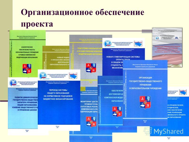 Организационное обеспечение проекта