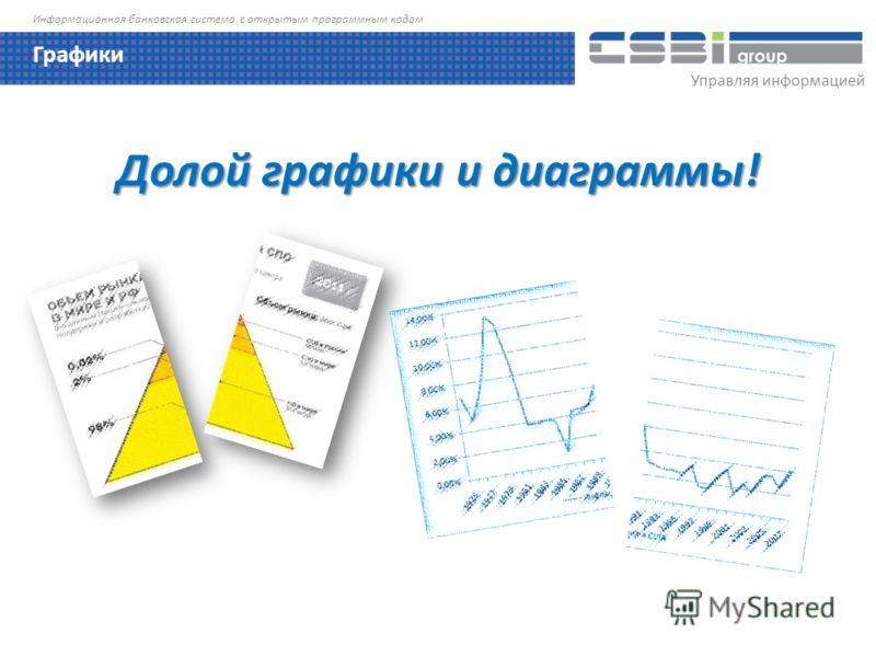 Управляя информацией Информационная банковская система с открытым программным кодом Долой графики и диаграммы! Графики