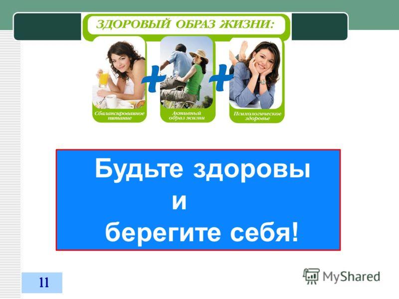 03.11.2012 Будьте здоровы и берегите себя! 11