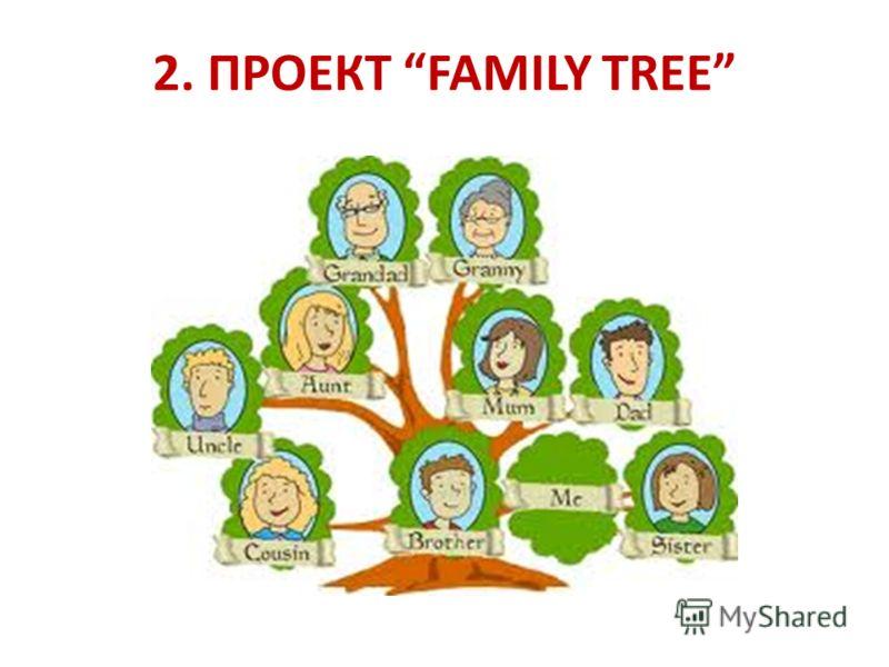 2. ПРОЕКТ FAMILY TREE