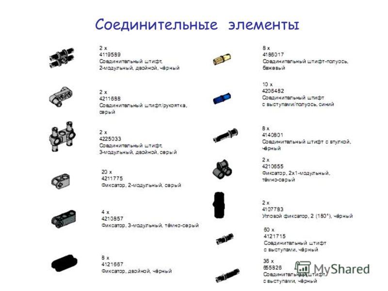 Соединительные элементы