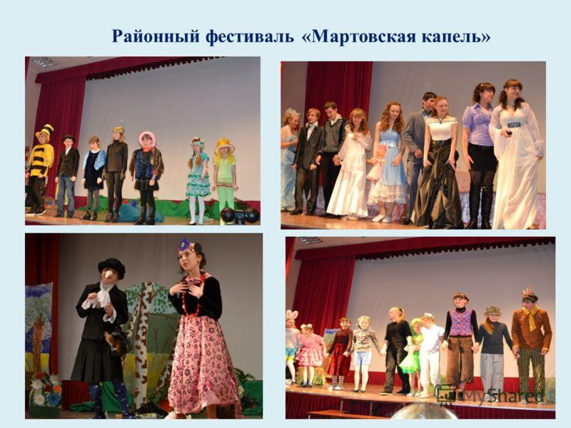 Районный фестиваль «Мартовская капель»