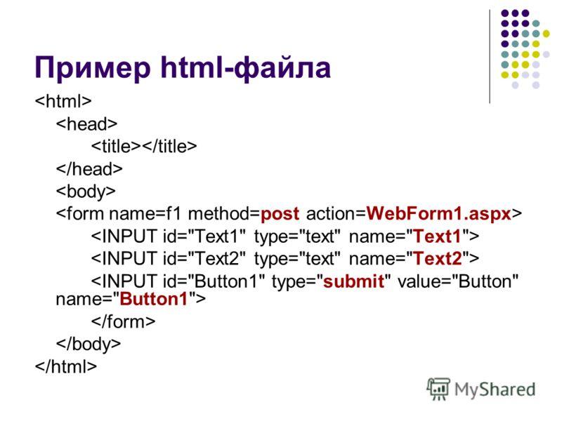 Пример html-файла
