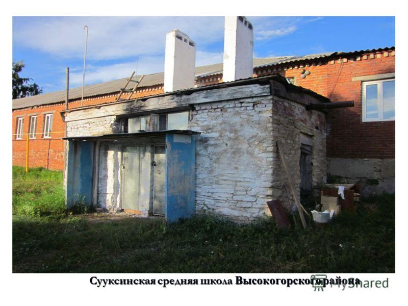 Сууксинская средняя школа Высокогорского района