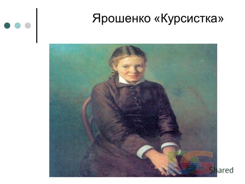 Ярошенко «Курсистка»