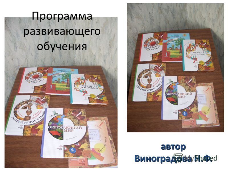 Программа развивающего обучения автор Виноградова Н.Ф.
