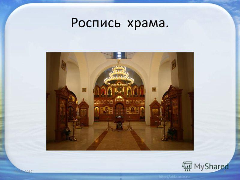 Иконостас и вход в алтарь 03.11.20127