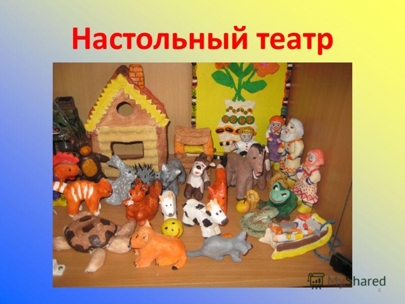 4 Настольный театр