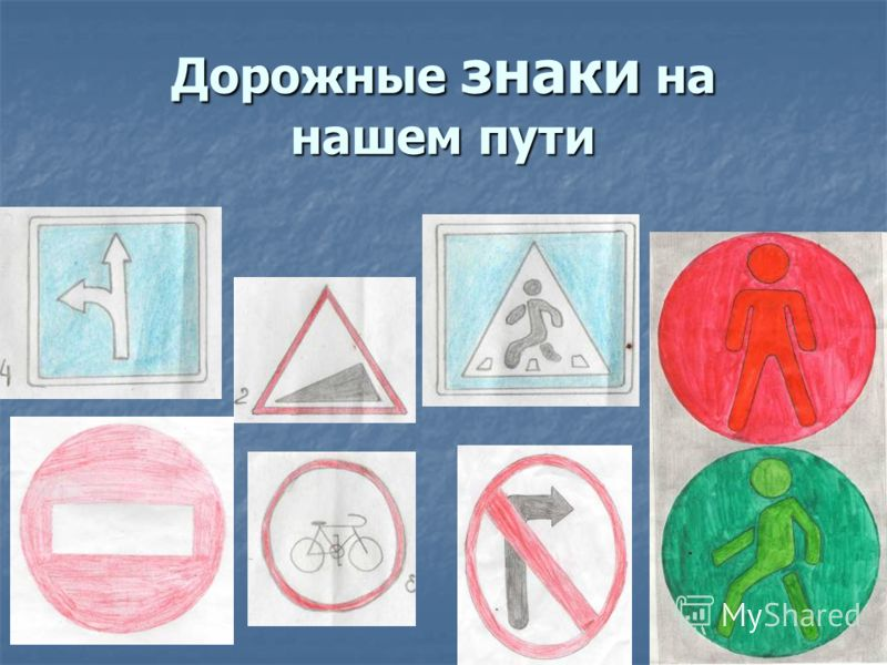 Дорожные знаки на нашем пути
