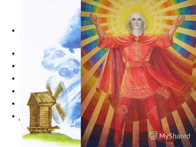 Верования восточных славян Язычество – вера во многих богов, которых надо задабривать. Сварог – Бог огня Перун – Грома и молний Велес – покровитель скота Стрибог – Бог ветра Макошь – богиня домашнего очага Дажбог – Бог солнца
