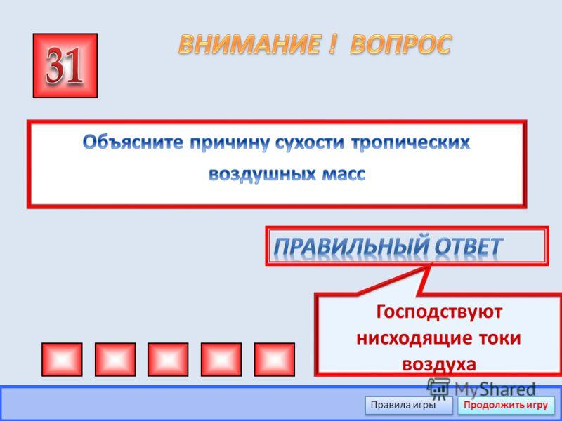В Евразии Правила игры Продолжить игру
