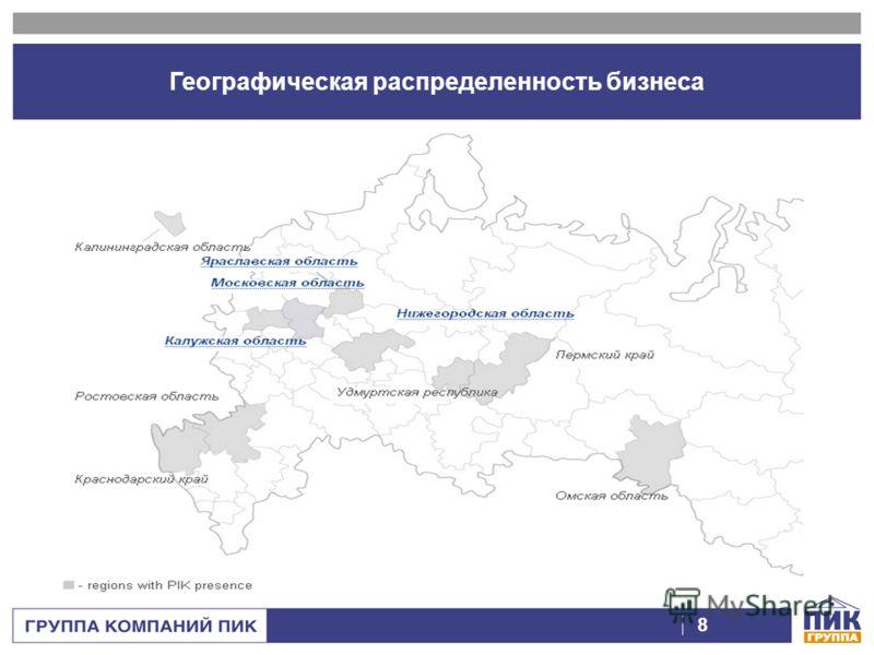 ГРУППА КОМПАНИЙ ПИК 7 Организационная структура компании