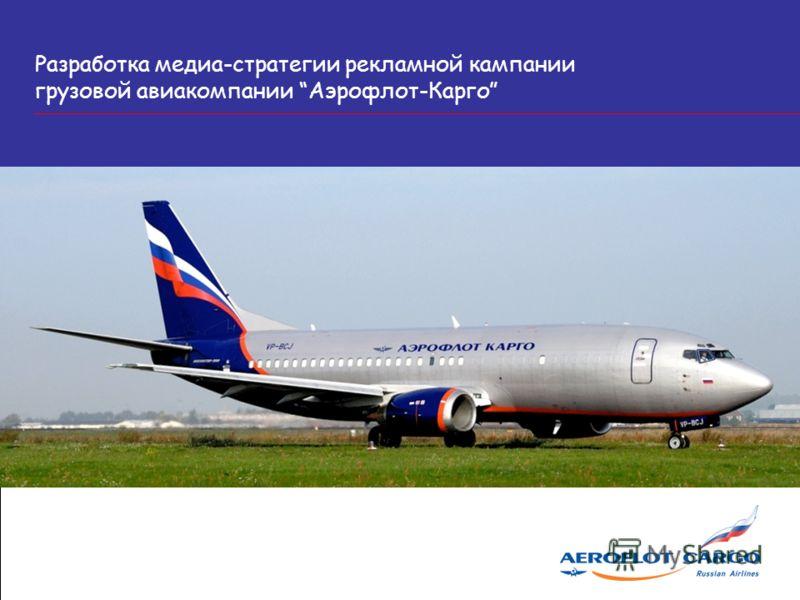 Разработка медиа-стратегии рекламной кампании грузовой авиакомпании Аэрофлот-Карго