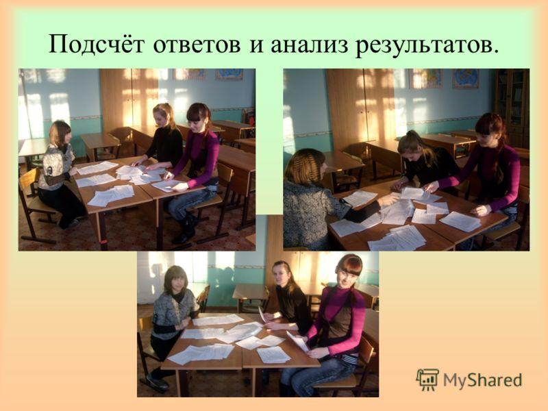 Определение респондентов и распространение анкет Анкеты распространялись среди учащихся 9,10, 11 классов.