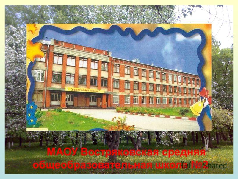 МАОУ Востряковская средняя общеобразовательная школа 2