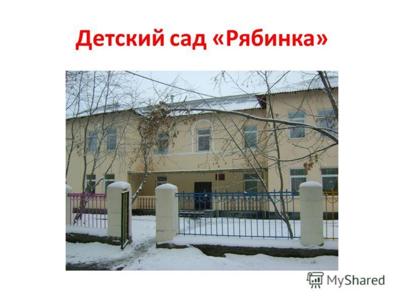 Детский сад «Рябинка»