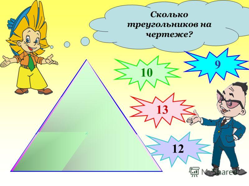 Сколько на рисунке отрезков? Запишите их. Проверка (2) AB; CD; KP; AM; AN; MN; NB; MB; CM; MD; KN; NP А В С D P K M N 12
