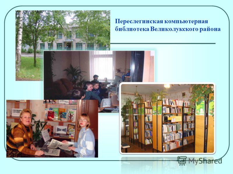 Переслегинская компьютерная библиотека Великолукского района