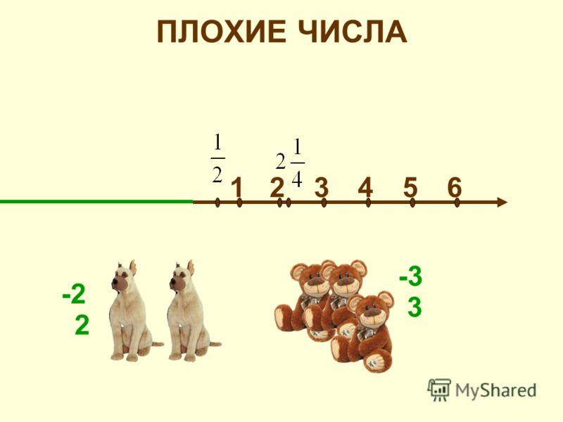 ПЛОХИЕ ЧИСЛА 215346 -3 -2 3 2