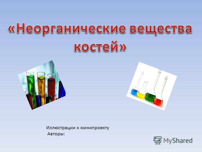 Иллюстрации к минипроекту Авторы: