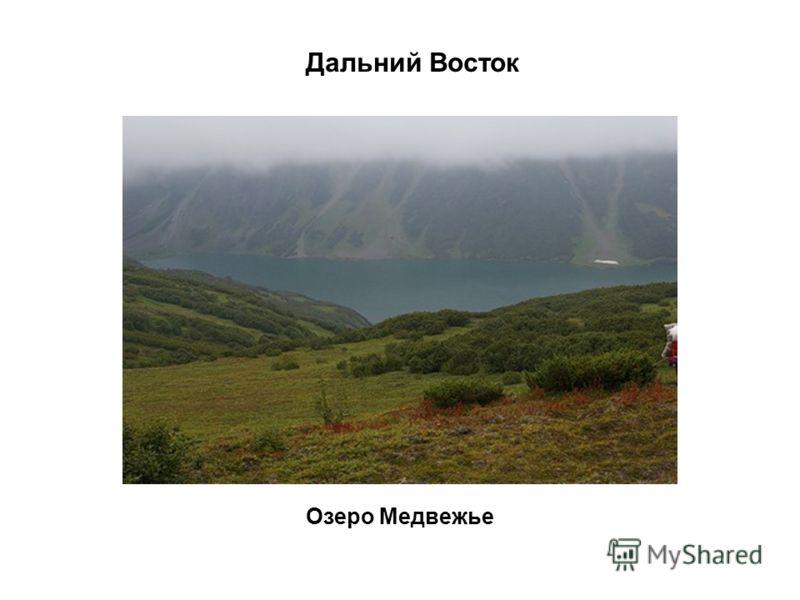 Озеро Медвежье Дальний Восток