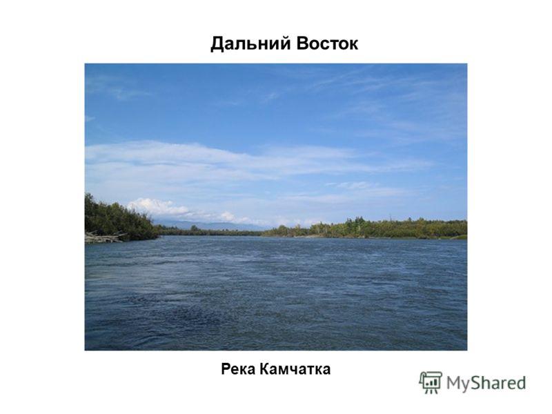 Река Камчатка Дальний Восток