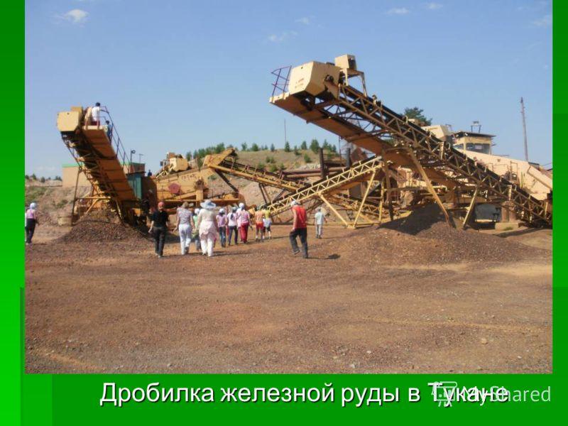 Дробилка железной руды в Тукане