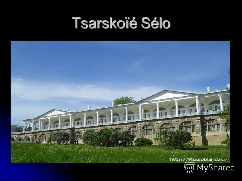 Tsarskoïé Sélo