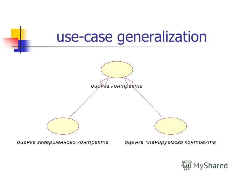 use-case generalization