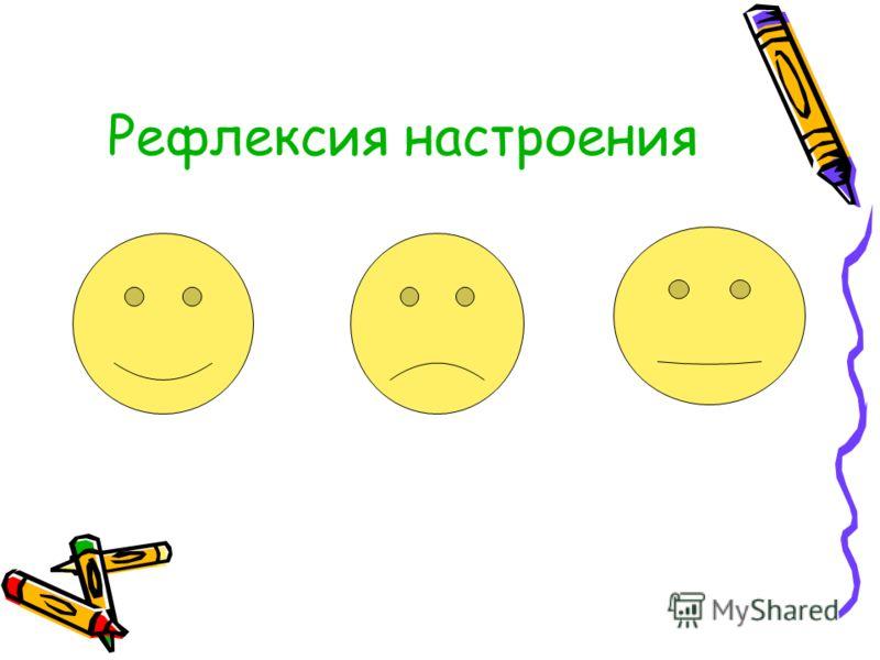 Рефлексия настроения