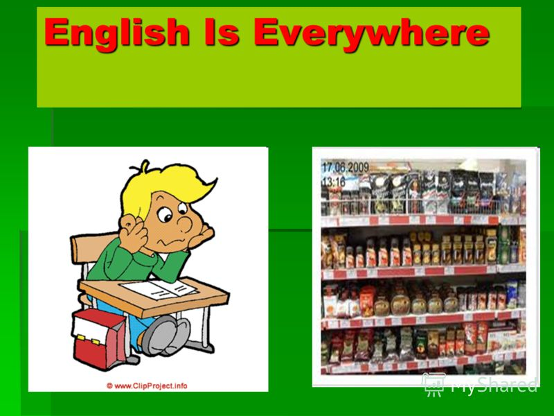 English Is Everywhere