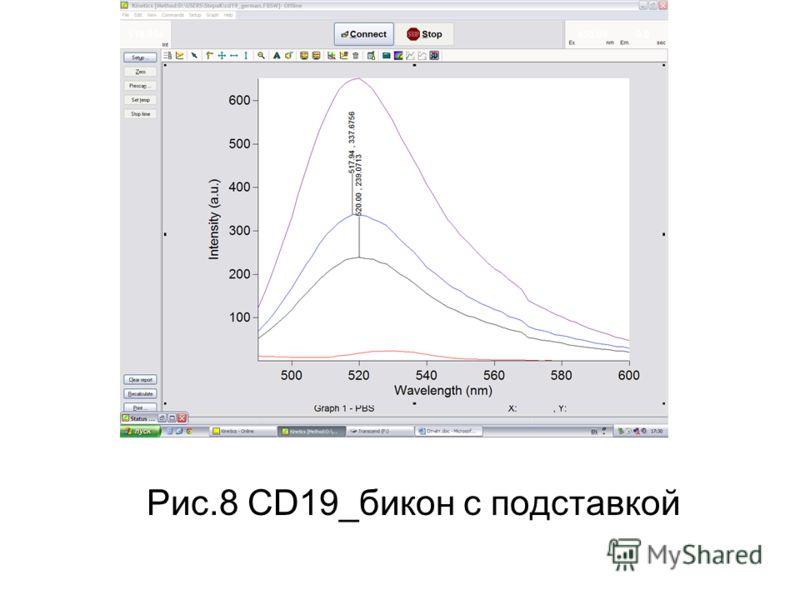 Рис.8 CD19_бикон с подставкой