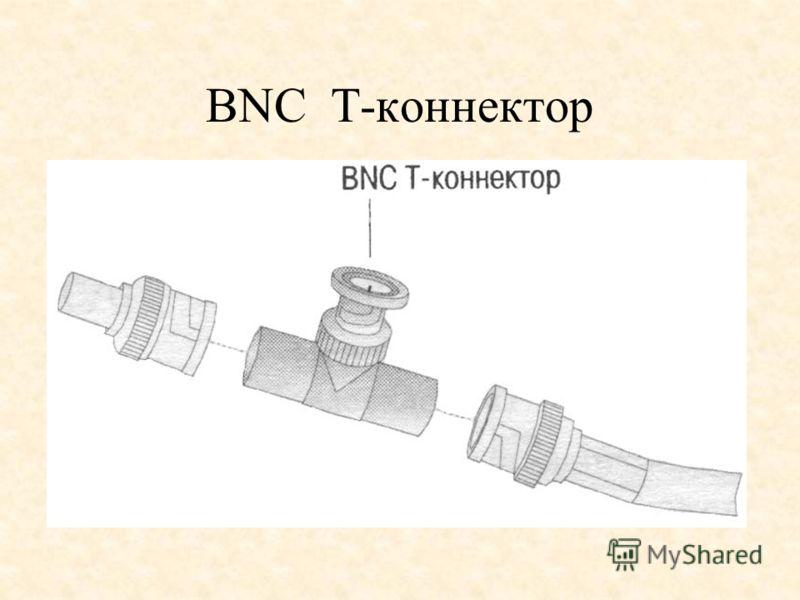 BNC Т-коннектор