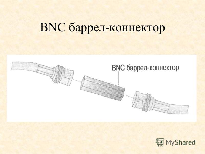 BNC баррел-коннектор