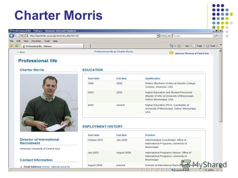 Charter Morris