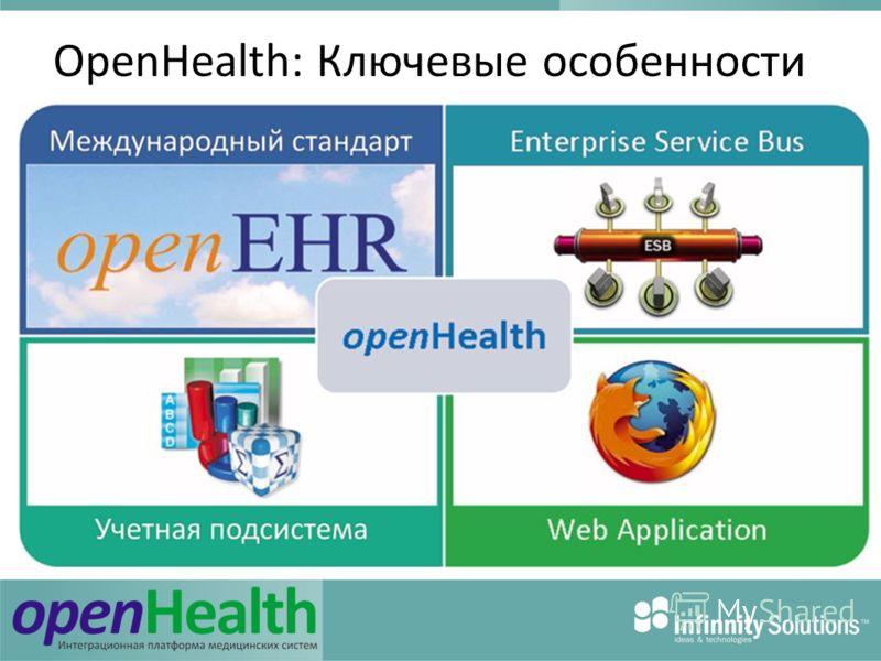 OpenHealth: Ключевые особенности